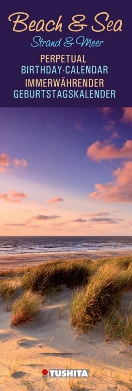 Beach and Sea Verjaardagskalender