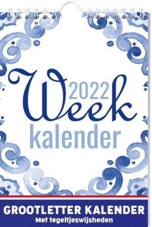 1000 Graden Dutch Weekkalender 2022
