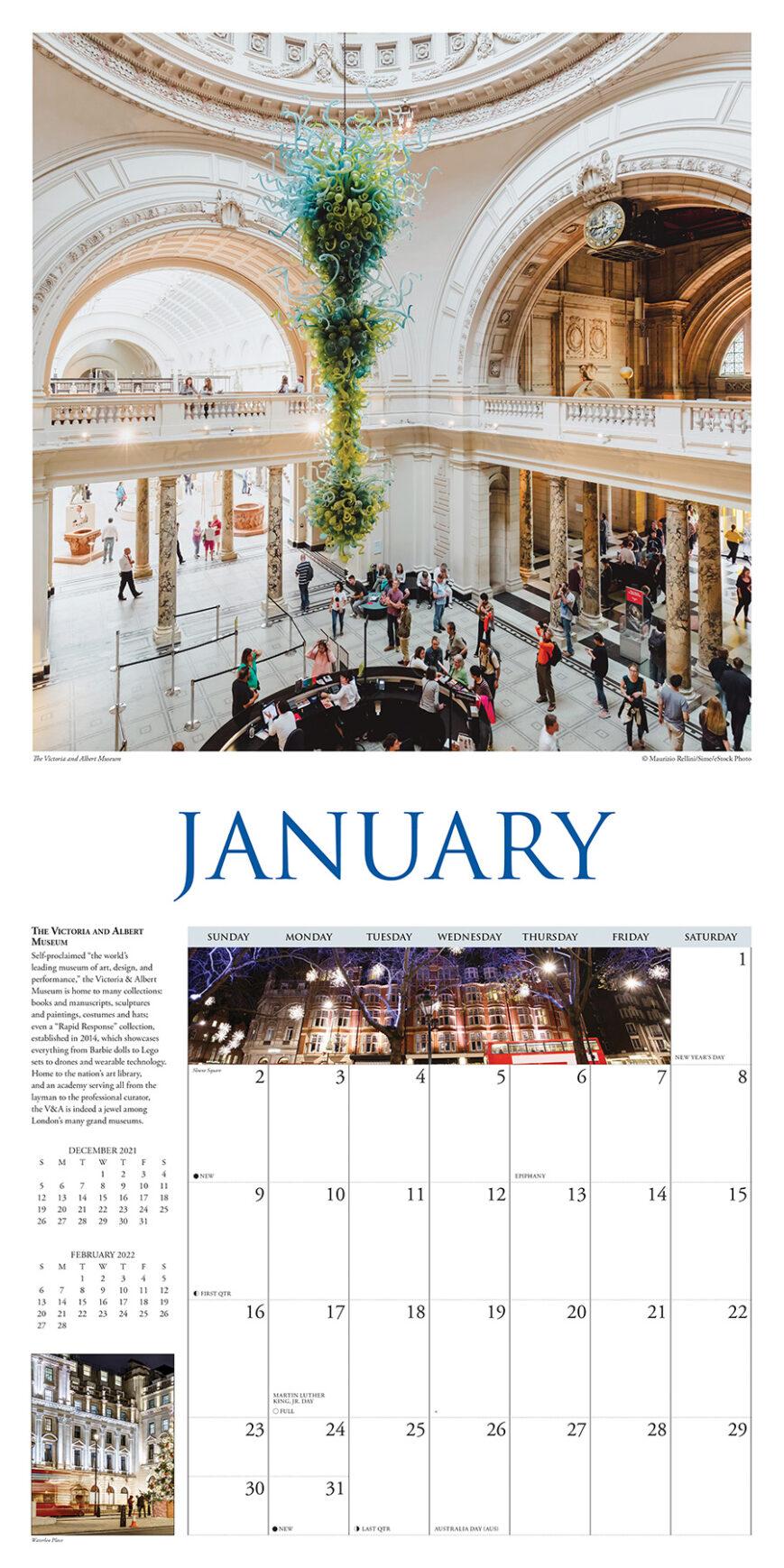 A Walk in London Kalender 2022
