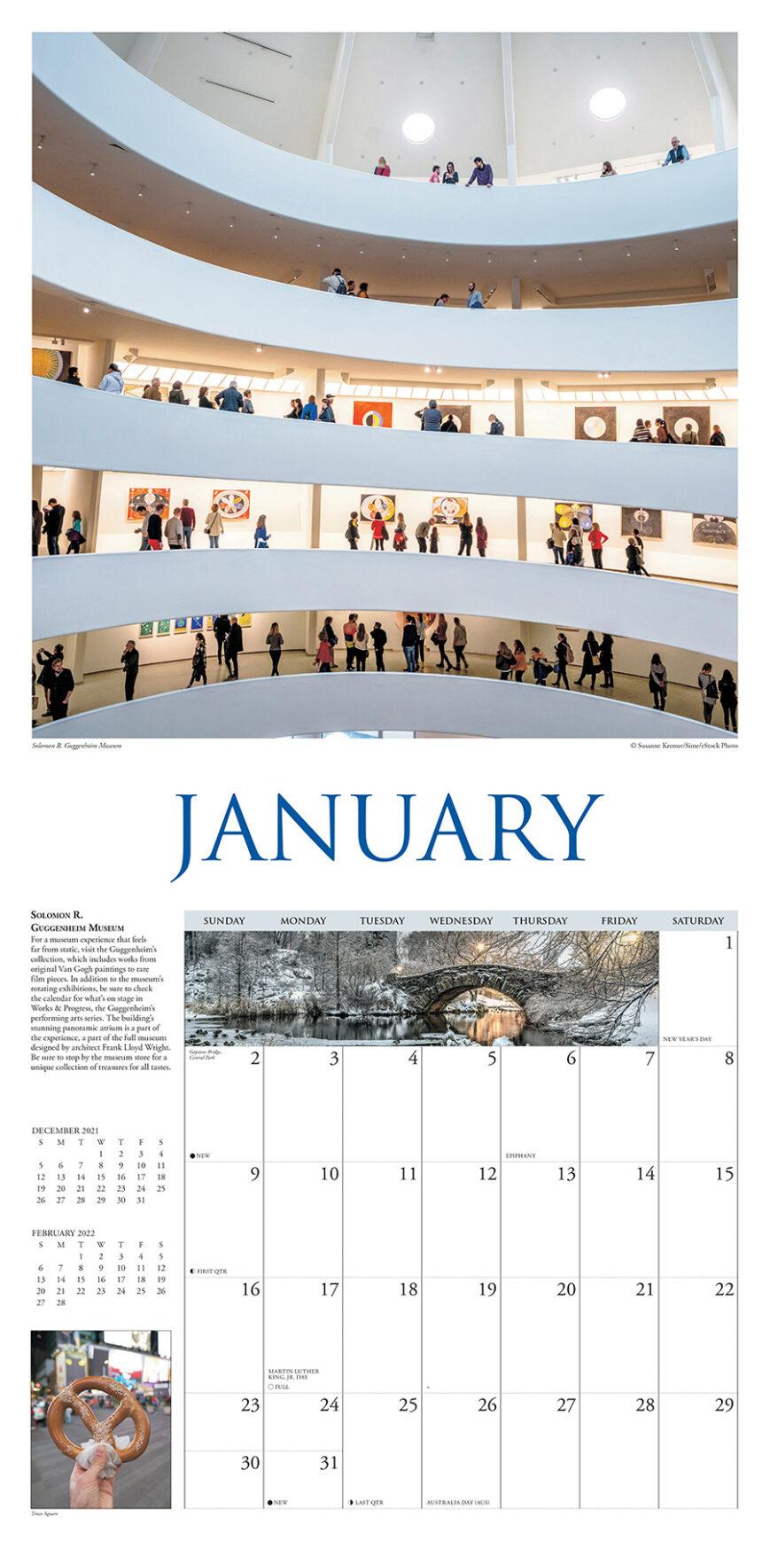 A Walk in New York City Kalender 2022
