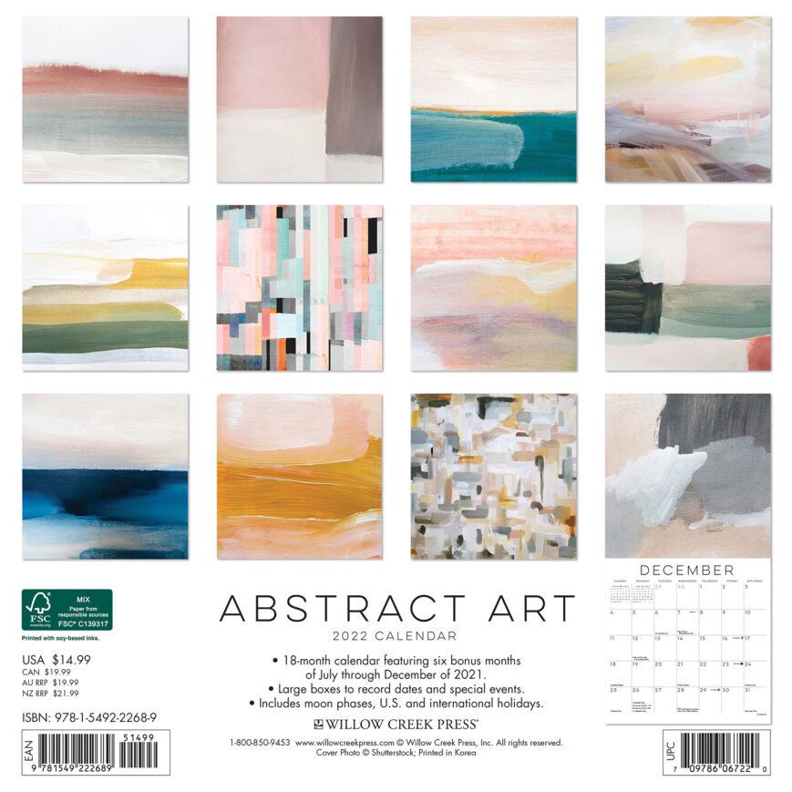 Abstract Art Kalender 2022