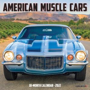 American Musle Cars Kalender 2022 Mini