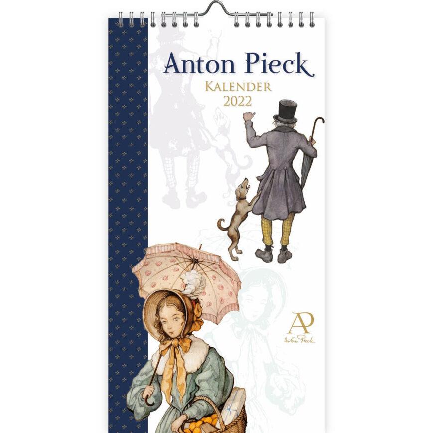 Anton Pieck Notitiekalender 2022 Detail