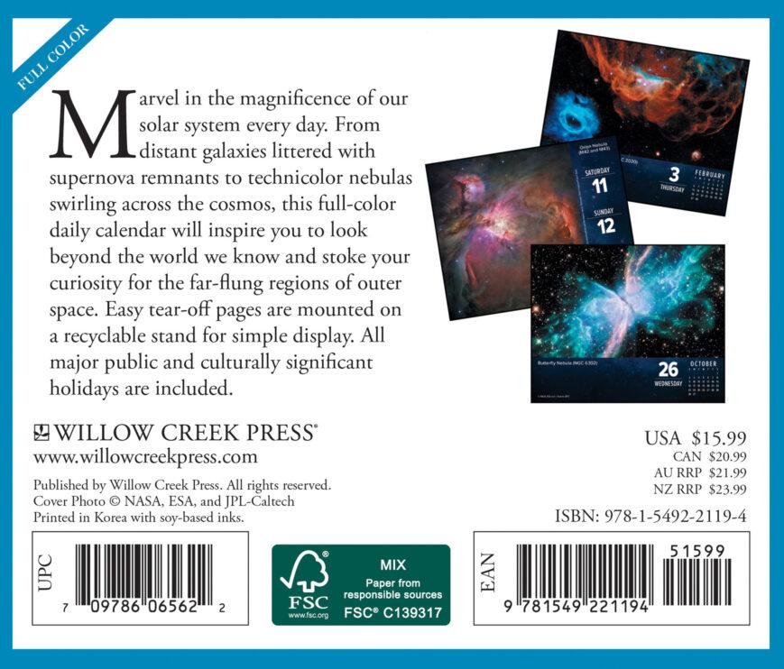 Astronomy Kalender 2022 Boxed