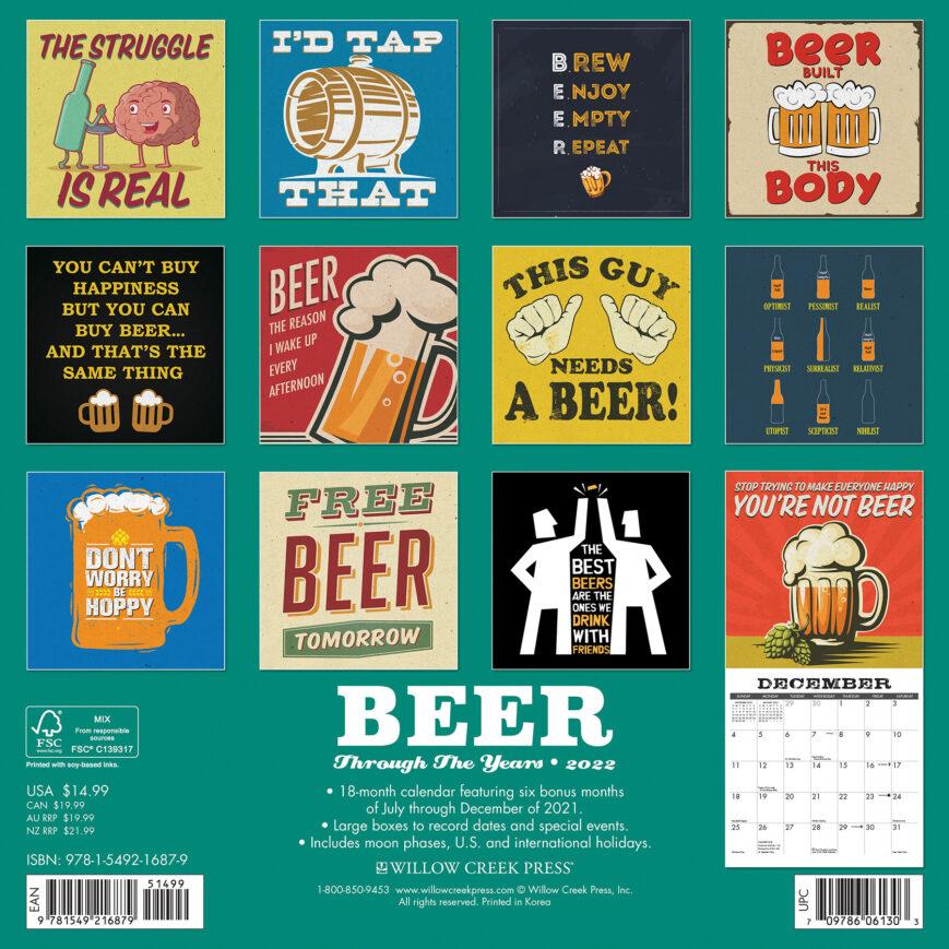 Beer - Trough the Years Kalender 2022