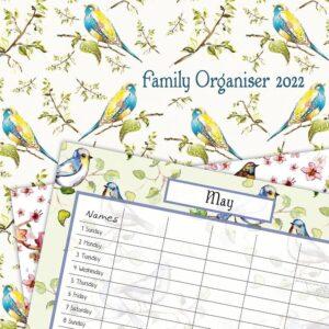 Birdsong Familie Planner 2022