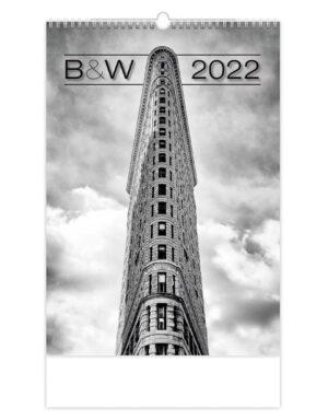 Black and White Kalender 2022