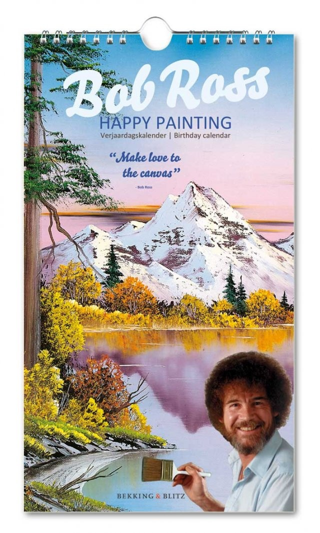 Bob Ross Verjaardagskalender