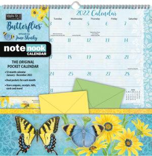 Butterflies Pocket Kalender 2022
