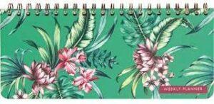 Cedon Desk Kalender Tropical Green