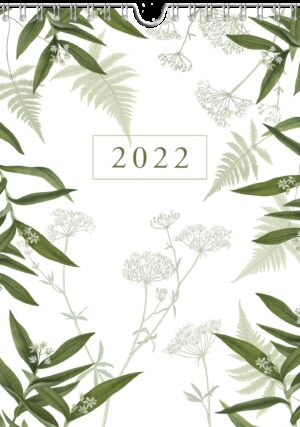 Chique Botanical Weekkalender 2022