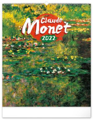Claude Monet Kalender 2022 Groot