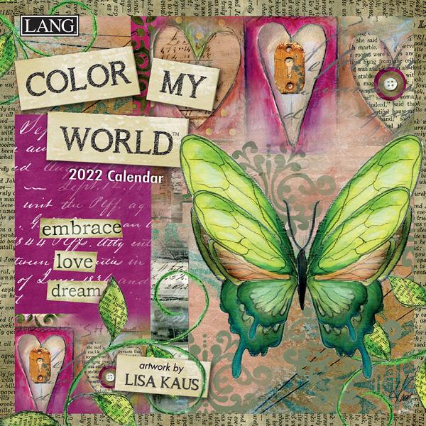 Color my World Mini Kalender 2022