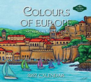 Colours of Europe Kalender 2022