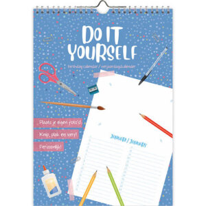 Do it yourself A4 Verjaardagskalender