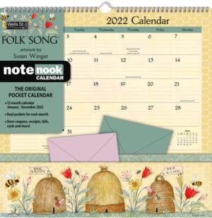 Folk Song Pocket Note Nook Kalender 2022