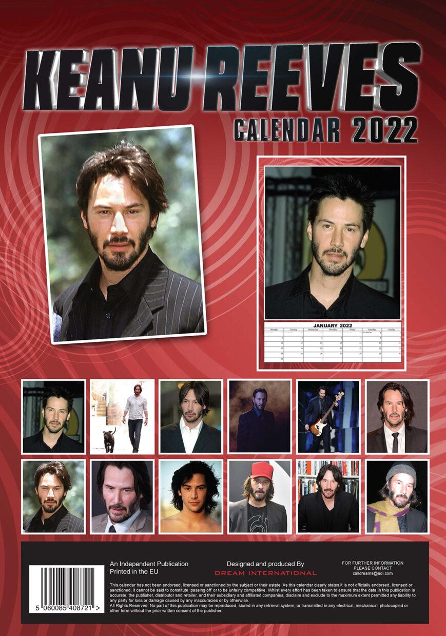Keanu Reeves Kalender 2022 A3
