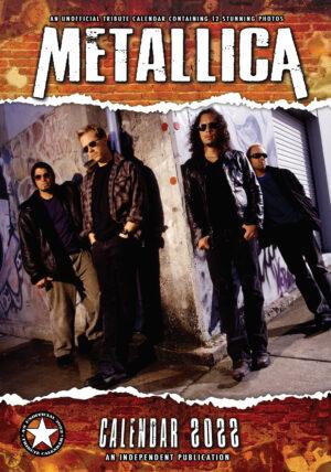 Metallica Kalender 2022 A3