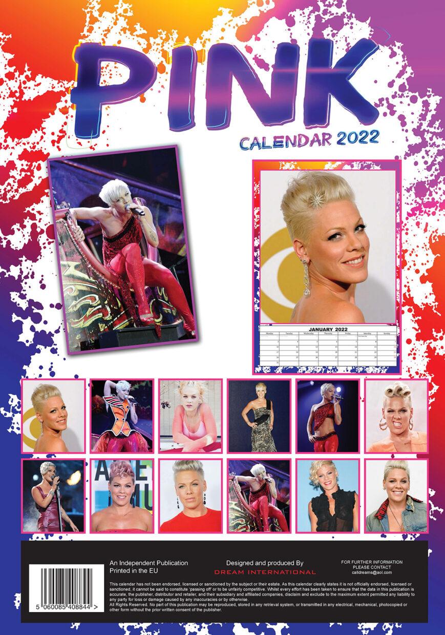 Pink Kalender 2022 A3