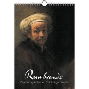 Rembrandt Verjaardagskalender A4