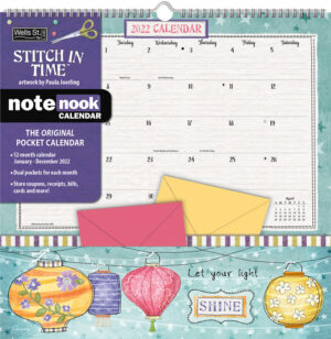Stich in Time  Pocket Note Nook Kalender 2022
