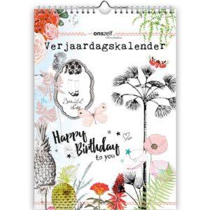Studio Onszelf Verjaardagskalender A4