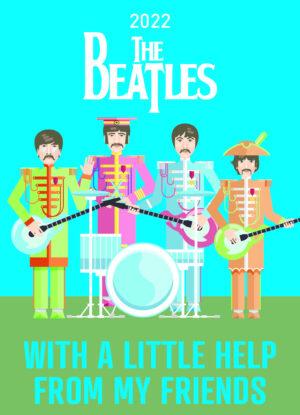 The Beatles 8 days a week Scheurkalender 2022
