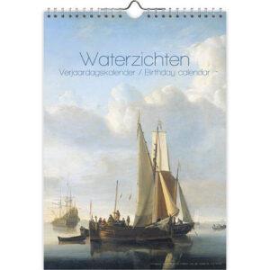 Waterzichten Verjaardagskalender A4