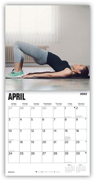 Yoga Pants Kalender 2022